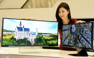 34-Дюймовый qhd ips монитор lg формата 21:9 будет доступен на российском рынке с апреля 2014 г.