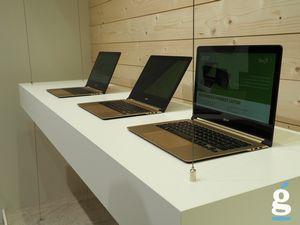 Acer представила два новых ультратонких ноутбука swift