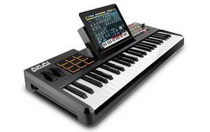 Akai synthstation 49 - музыкальный контроллер для ipad (7 фото + видео)