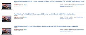 Amazon по ошибке продал сотни новых macbook с грандиозной скидкой