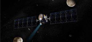 Американский межпланетный зонд dawn приблизился к астероиду веста на 210 км
