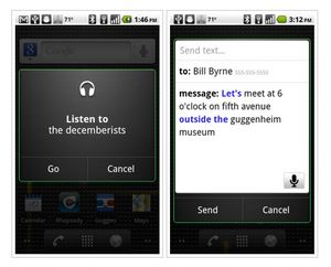 Android-смартфоны научились понимать голос
