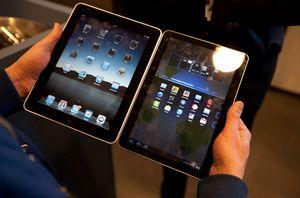 Apple добилась запрета на продажу планшетов samsung в ес