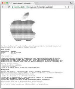 Apple ищет программистов через секретные объявления о работе