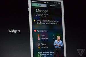 Apple официально представила ios 8