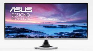 Asus представила 34-дюймовый изогнутый монитор designo curve mx34vq. фото
