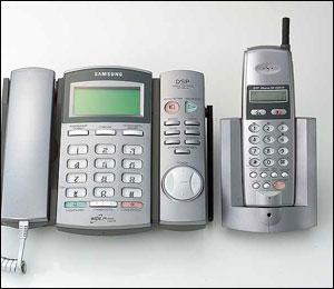 «Белые» радиотелефоны samsung пришли в россию