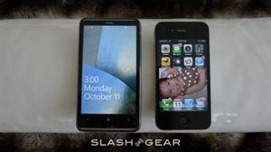 Битва: сравнение htc hd7 и iphone 4