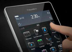 Blackberry покажет «убийцу» ipad уже на следующей неделе