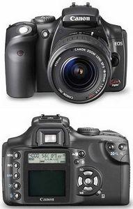 Canon eos 300d: теперь и для любителей черного