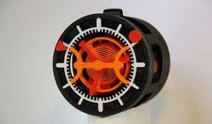 Часы с турбийоном распечатали на 3d принтере