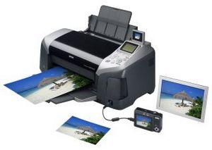 Epson представил r320 - 6-цветный струйный принтер для дома