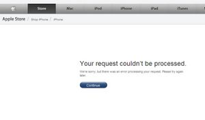 Фанаты iphone исчерпали предзаказ и сломали сайт apple