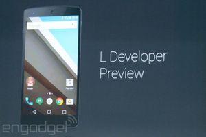 """Google анонсировала самое крупное обновление ос — android """"l"""""""