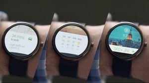 Google и motorola представили «умные часы». фото