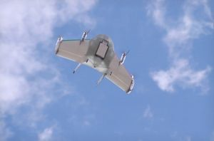 Google испытал собственные беспилотники для доставки товаров. видео