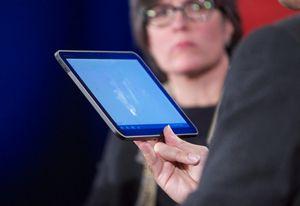 Google показал планшет с неанонсированной версией android