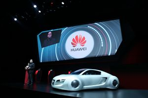 Huawei становится партнёром audi group