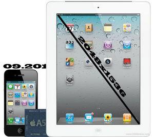 «Яблочные» слухи: iphone 5 представят в сентябре, а ipad 3 получит дисплей retina