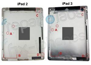 Эксперты заглянули внутрь ipad 3: новый дисплей, камера и батарея