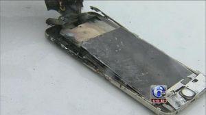 Эпидемия взрывов смартфонов перекинулась на iphone 6 plus. фото