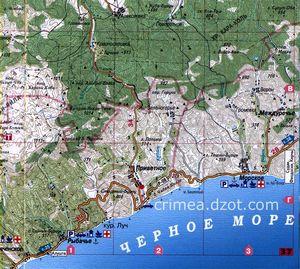 Южный берег крыма отдых от базы batiliman.ru