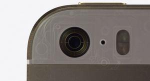 Камера в iphone 5s