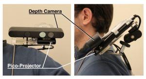 Microsoft научилась превращать в сенсорный экран любую поверхность. видео