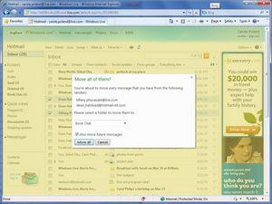 Microsoft представляет усовершенствованный сервис электронной почты windows live hotmail