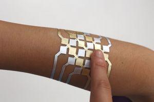 Microsoft создала «электронную кожу». видео