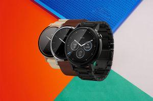 Motorola moto 360 второго поколения представлены сразу в четырёх версиях