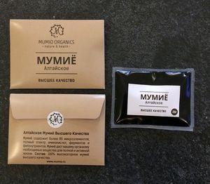Мумие не входит в официальный перечень медикаментов