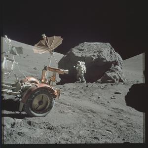 На flickr появилось более 8400 оригинальных высококачественных снимков лунной программы apollo
