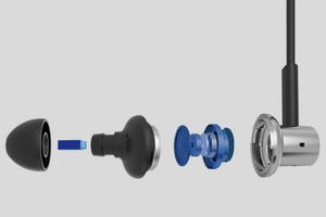 Наушники xiaomi iron — hybrid dual drivers
