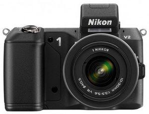 Nikon анонсировала сверхскоростную фотокамеру nikon 1 v2