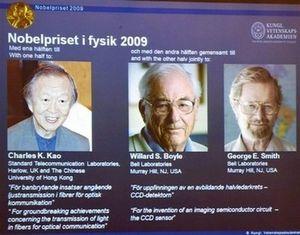 Нобелевскую премию дали за оптоволокно и ccd-матрицы