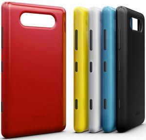 Nokia представила первые смартфоны на windows phone. фото