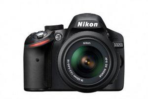 Новая фотокамера nikon d3200