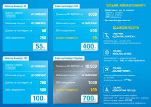 Новые пакеты данных «смартфон» от «киевстар»