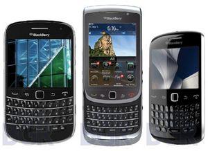 Новые смартфоны blackberry. фото