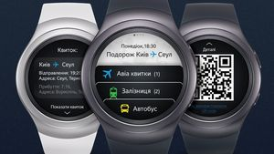 Новые украинские приложения для samsung gear s2