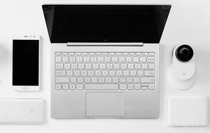 Обновленная модель xiaomi mi notebook air 13.3 с дактилоскопическим сканером