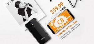 Oukitel c8 будет доступен на распродаже tech discovery всего за $59.99
