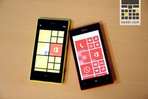 Первый взгляд на nokia lumia 520 и 720