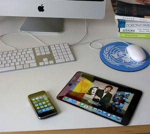 Планшетник apple будет похож на гигантский iphone?