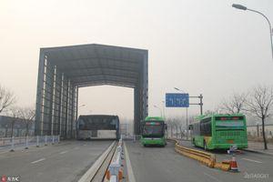 Портальный автобус teb-1 брошен на окраине шанхая (9 фото)