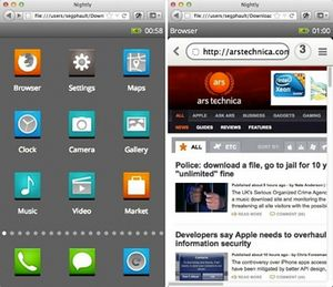 Разработчики firefox выпускают собственное мобильное устройство. скриншоты