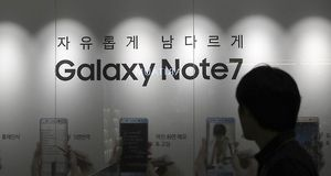Samsung остановил выпуск самовзрывающихся galaxy note 7