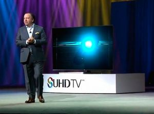 Samsung представил телевизоры нового типа