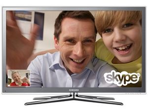 Samsung выпустил телевизоры со skype